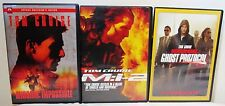 Mission: Impossible Special Edition 2 II Ghost Protocol DVD Lot Set Tom Cruise