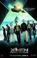 X-Men First Class movie poster (a)  James McAvoy, Michael Fassbender