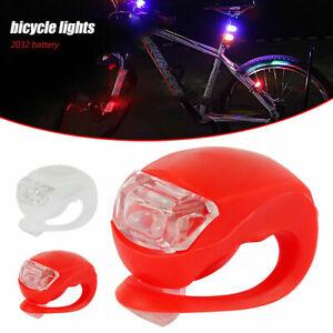 Smart LED Fahrrad Licht Lampe Rücklicht Rückseite Beleuchtung Heckleuchte Rot