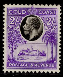GOLD COAST GV SG111, 2s black & bright violet, M MINT. Cat £35.