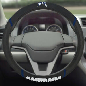 NFL Dallas Cowboys Embroidered Car Truck Steering Wheel Cover
