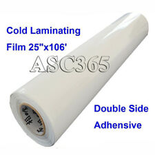 Glue Clod Laminating Film Pressure 0.69X35yd Double Sided Adhesive