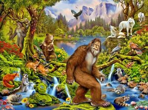New 1000 Piece Puzzle by SunsOut King of the Forest by Eva Nikolskaya 2021
