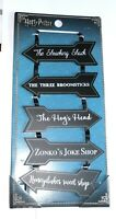 Harry Potter Road Sign Arrows Hanging Plaque Primark Wall Signs