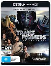 The Transformers - Last Knight (Blu-ray, 2017, 2-Disc Set)