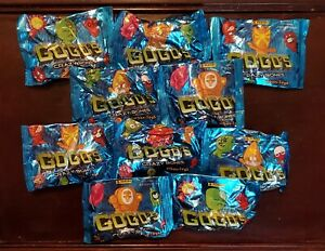 Gogo's Crazy Bones 10 SEALED URBAN TOYS PACKS (Turkish Release) *RARE*