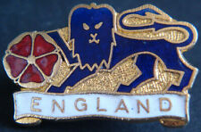 More details for england vintage 1970s 80s badge maker coffer london brooch pin 29mm x 19mm