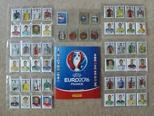 PANINI EURO 2016-COMPLETE STICKER SET & EMPTY ALBUM-ALL 680 STICKERS