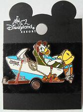 Disney Pin 8441: DCA Mulholland Drive Donald in Fishing Boat 2001 Rare New