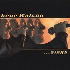 Gene Watson...Sings by Gene Watson (CD, Oct-2003, Compendia Music Group)