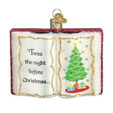 Old World Christmas The Night Before Christmas (32381)N Glass Ornament w/Owc Box