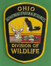 OHIO DEPARTMENT OF NATURAL RESOURCES WILDLIFE ENFORCEMENT POLICE PATCH