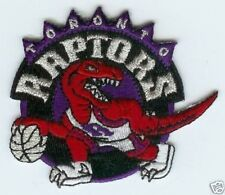 "TORONTO RAPTORS NBA BASKETBALL 2.75"" TEAM LOGO PATCH"