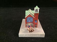 Sebastian Miniature Sml-467 Firehouse - Hudson 3719 Signed