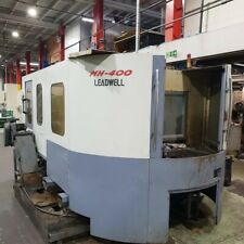 Leadwell MH400 Horizontal machining centre, Fanuc 18m,  £19,950 plus VAT(20824)