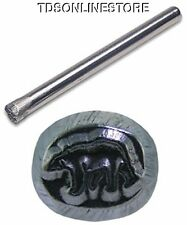 Jewelers Or Metal Worker Design Stamp Polar Bear #155