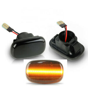 2pcs Flowing LED Side Lights Indicator Repeater For Toyota Hilux Corolla Lexus