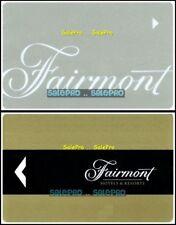 2x FAIRMONT RESORT MT. TREMBLANT CHATEAU MONTEBELLO HOTEL SUITE ROOM KEY LOT