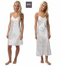 Ladies Womens New BHS Satin Nightwear Nightdress Butterfly Chemise Size 8-22 UK