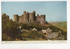 Harlech Castle Vintage Postcard 648a