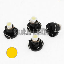 1 Yellow SMD LED T3 Neo Wedge 12v Interior LED Bulb