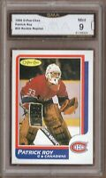 GMA 9 Mint PATRICK ROY 1986/87 OPC O-Pee-Chee ROOKIE Card *REPRINT*