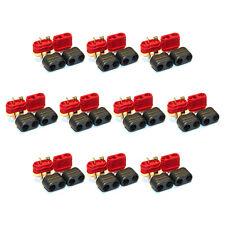 10 Pair Amass Deans T-plug Connectors 10 Male 10 Female RC Plane Car Battery