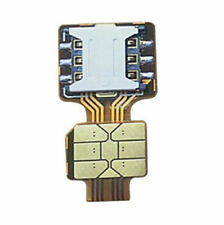 HAOHAN Hybrid Double Dual SIM Card Micro SD Adapter for Android Extender 2 Nano