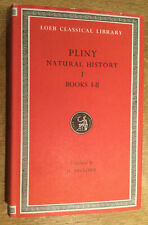 Pliny. Natural History I. Books I-II.  Loeb Classical Library, 1979