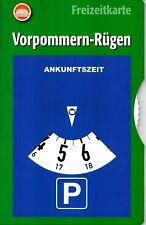 Sheet Road Map Vorpommern Rügen, City Map Stralsund Germany