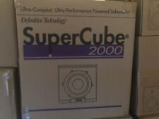 Definitive Technology Supercube ® 2000-Ultra Compact High Powered Subwoofer