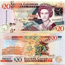 EAST CARIBBEAN 20 DOLLARS ND(2012) P-53 UNC