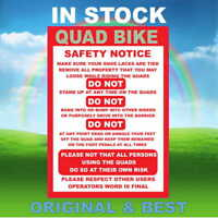 QUAD BIKE Safety Sign, Disco Dome, quad track Inflatable Slide, bouncy castle