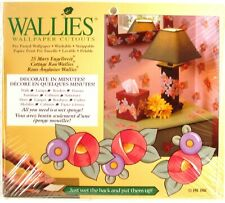 Wallies Wallpaper Cut-Outs 25-Count Cottage Rose Mary Engelbreit Pre-Pasted