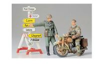 Tamiya 35241 - 1/35 wwii DT. personnages + moto avec guide-NEUF