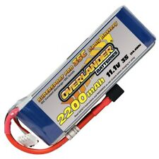 Overlander LiPo Battery 2200mAh 3S cell 11.1v 35C Deans Connector RC Battery mah