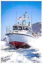 Postcard Royal Navy HMS Scimitar Fast Patrol Boat, based at Gibraltar 2016 i62