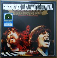 CREEDENCE CLEARWATER REVIVAL CHRONICLE WALMART USA GREEN VINYL DBL/LP EXCLUSIVE