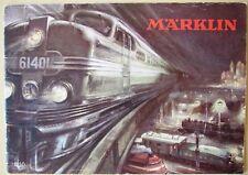 MäRKLIN 1950 KATALOG niederländisch original Dutch Trains Cars && Marklin 800 H0