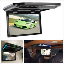 "Foldable 10.2"" HD 1080P Autos Roof Monitor Overhead Multimedia Video Player HDMI"