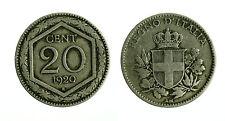 pcc1765_2) Vittorio Emanuele III  (1901-1943) 20 Centesimi ESAGONO 1920 - R