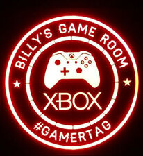 Custom Xbox Gamer LED Sign Personalized, Xbox PS4