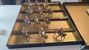 Blenheim Toy Soldiers Special Set H - British 2nd Dragoons Mounted Band 12 Piece