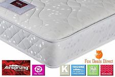 AIRSPRUNG 3FT Single Bed Sleepwalk TRIZONE GOLD No Turn Mattress Fast Delivery