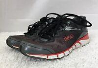 Fila Mechanic 2 Energized Size Size 11.5 Men's Running Shoes Gray Black See Pics