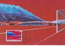Liechtenstein 1982 Football World Cup Maxim Card Set Mint in Original Envelope