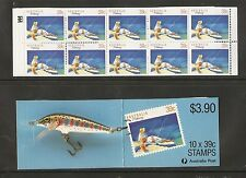 Australia Sc # 1109a Fishing . Complete Booklet . Mnh