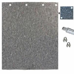Pfeilfangmatte - Maximum Safe - 2m x 2m inkl. Zubehör & GRATIS-Backstop