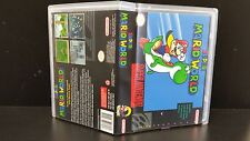 Super Mario World Super Nintendo SNES Box Art and Case! *NO GAME*