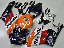For CBR1000RR 2004 2005 ABS Injection Mold Bodywork Fairing Blue Orange Repsol